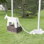 "Our ""Gray Mare"" monument to escape installed without permission in a Cañon City, Colorado public park."