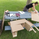 """Sculpting and assembling our """"Gray Mare"""""""