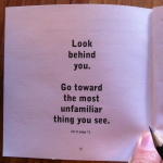 Get Lost! - Interior page - Look behind you.