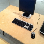 Input/Output Device workstation table